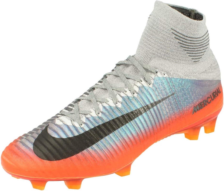 Injusto Fortaleza patio  Amazon.com: Nike Mercurial Superfly V CR7 FG Cleats [Cool Grey] (11): Shoes