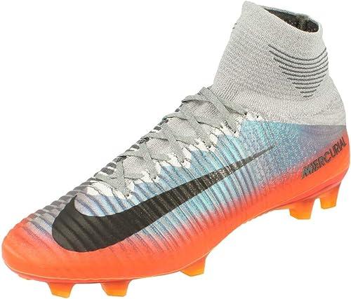 encanto ir de compras Disminución  Amazon.com: Nike Mercurial Superfly V CR7 FG Cleats [Cool Grey] (11): Shoes