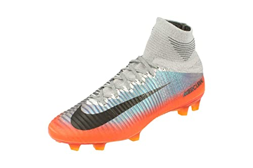 Mercurial Superfly V CR7 FG Cool Grey/MTLC Hematite-Wolf Grey 17/18