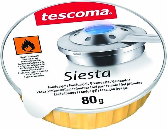 Tescoma 707050 JGO 3 UDS GEL PARA FONDUE SIESTA, Multicolor ...