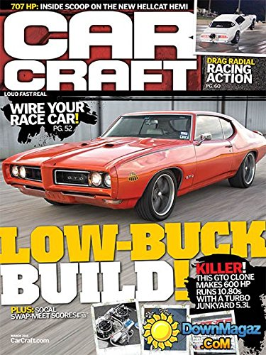 Car Craft Magazine Drag Racing - 2