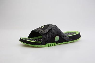38c4e9f59ad4 Jordan Men Jordan Hydro XIII Retro Slide Black Altitude Green-Altitude  Green Size 8.0 US