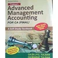 Advanced Management Accounting: For Ca Final A Self Study