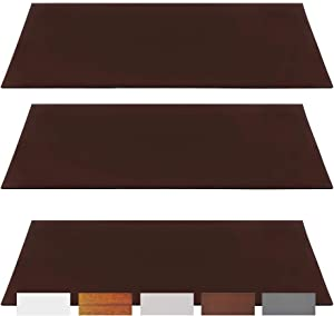 """5.5"""" x 12 """" Magnetic Vent Covers for Ceiling, Wall & Floor (3-Pack) Lightweight Magnet for Gripping Ceiling Air Registers - for RV, Home HVAC, AC and Furnace Vents (3 Pack, Brown)"""