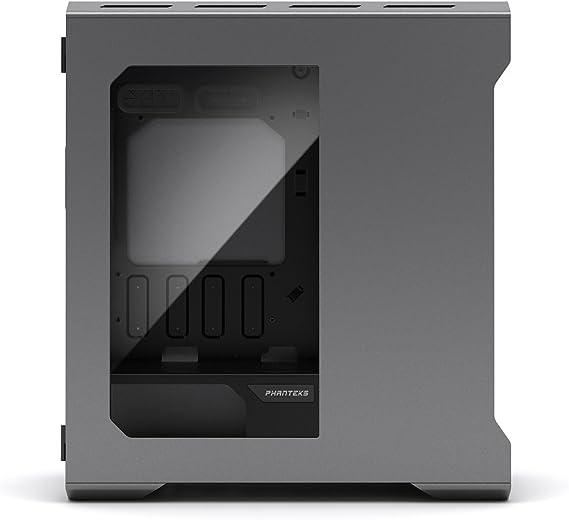 Phanteks Enthoo Evolv - Caja de Ordenador de sobremesa (Micro-ATX, USB 3.0, Aluminio), Color Plateado: Amazon.es: Informática
