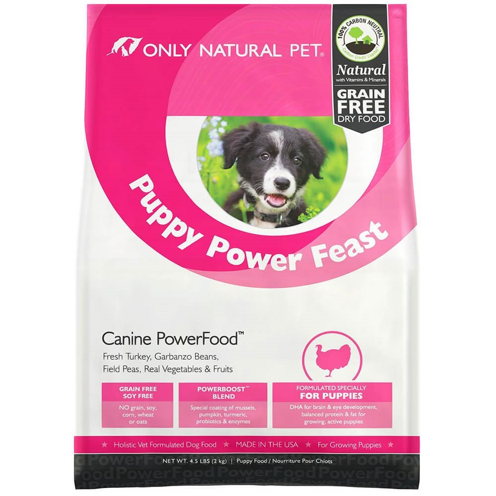 Only Natural Pet Puppy Power Feast