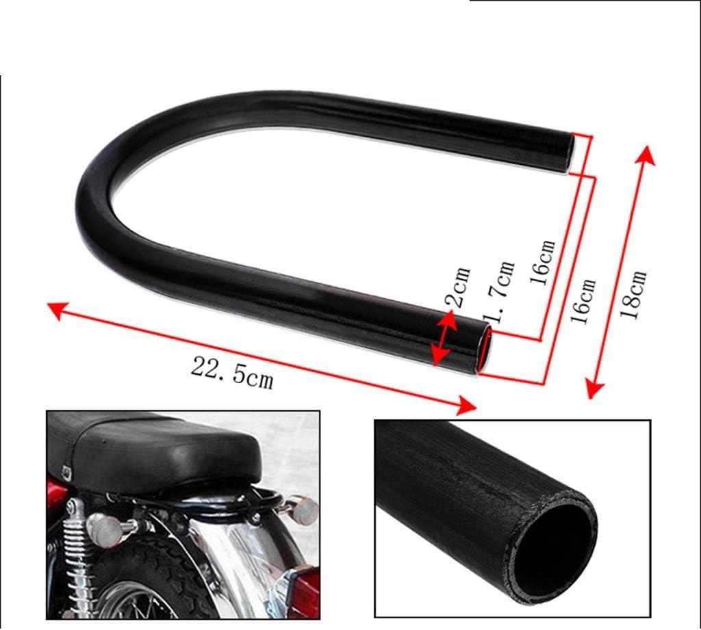 8.27 for Suzuki GN125 GS125 Motorcycle Motorbike Cafe Racer Seat Frame Hoop Loop End Flat 22mm 7//8 Dia KESOTO 210mm