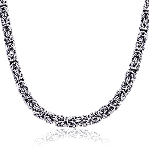 Amazon.com: Hombre Acero Inoxidable Color De Plata Bali ...