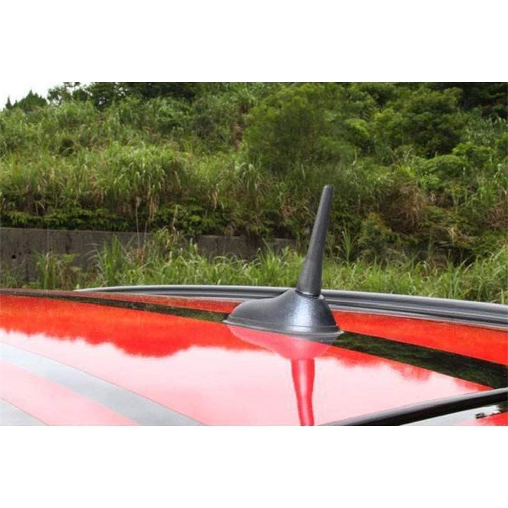 65MM Universal Autoantenne Schraube am Auto Ariels Flexible Eing/änge M5 M6 Autoantenne Fit SCREW-IN Typ Antenn Universal Autoantenne AM//FM Radio Antenne Mast Schraube Typ 2,5 Kurze Radioantenne