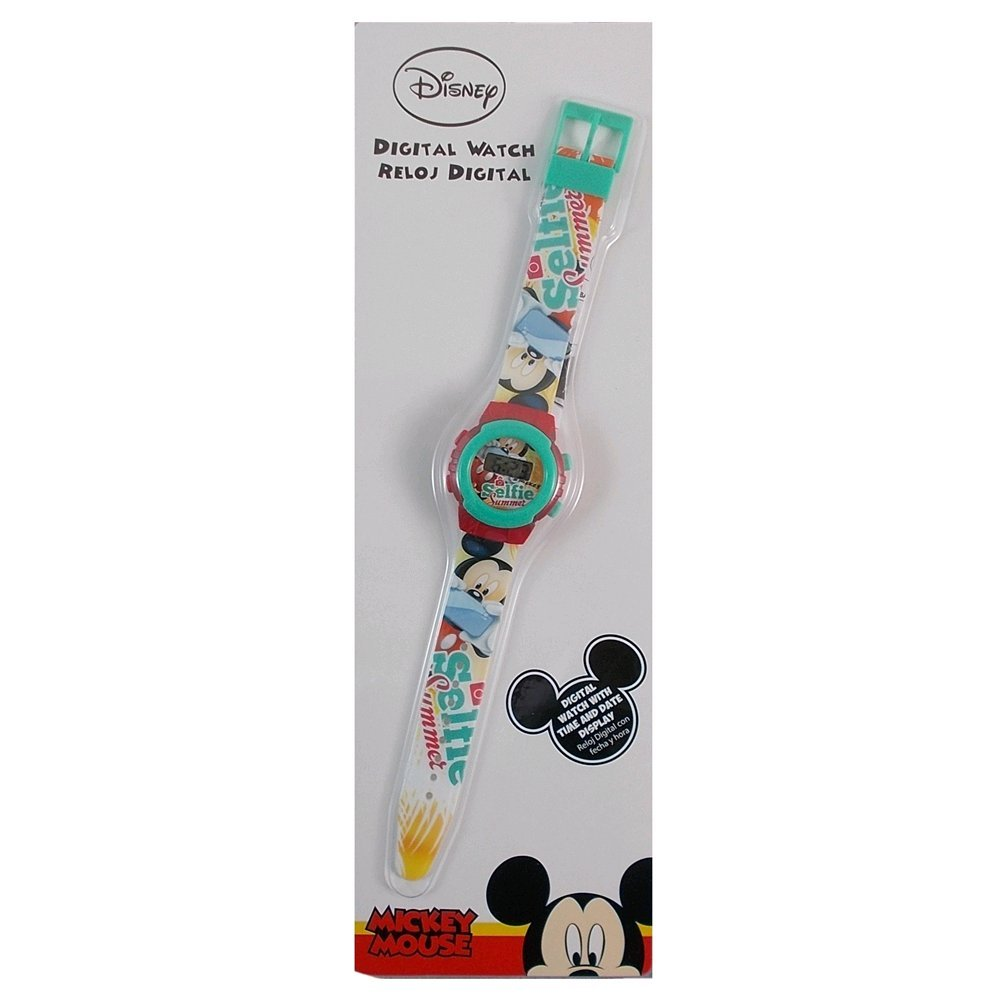 Kids Euroswan Reloj Digital Modelo Mickey Mouse, Compuesto, 25x2x12 cm: Amazon.es: Hogar