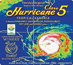 NV Florida Orange Groves Hurricane Class 5 White Sangria