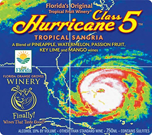 NV Florida Orange Groves Hurricane Class 5 White Sangria