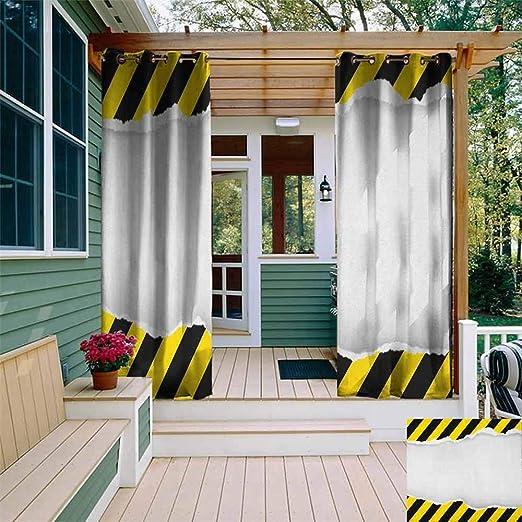 XXANS Cortina de Puerta corredera, Herramientas de construcción en diseño de Dibujos Animados, reparación de Edificios, eficiencia energética, oscurecimiento de habitación: Amazon.es: Jardín