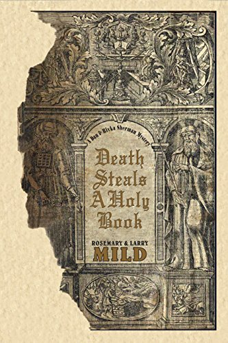 Death Steals A Holy Book: A Dan and Rivka Sherman Murder Mystery (The Dan and Rivka Sherman Mysteries Book 3)