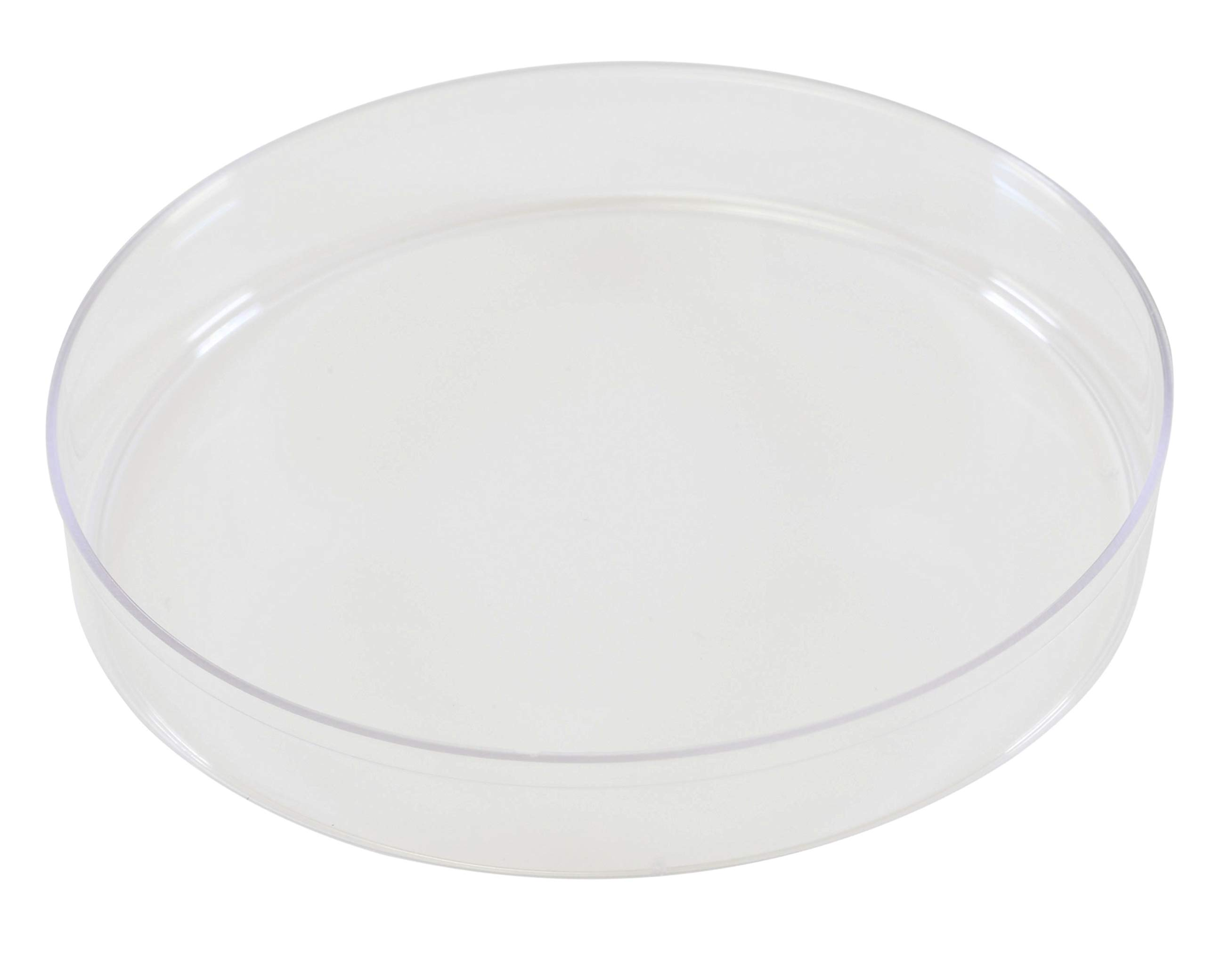 Petri Dish, Empty, with Stacking Ring, Sterile, Polystyrene, 100x15mm, 500 per Case, by Parter Medical Products by Hardy Diagnostics