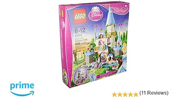 lego disney princess cinderellas romantic castle 41055 figures amazon canada