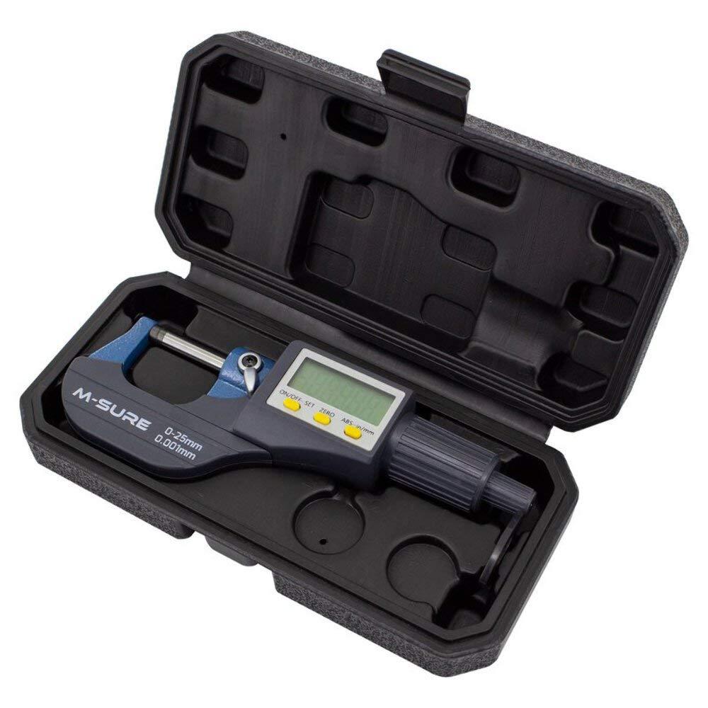MS-110 Series M-SURE MS-110-025 Digital External Micrometer 0-25mm 0-1 inch