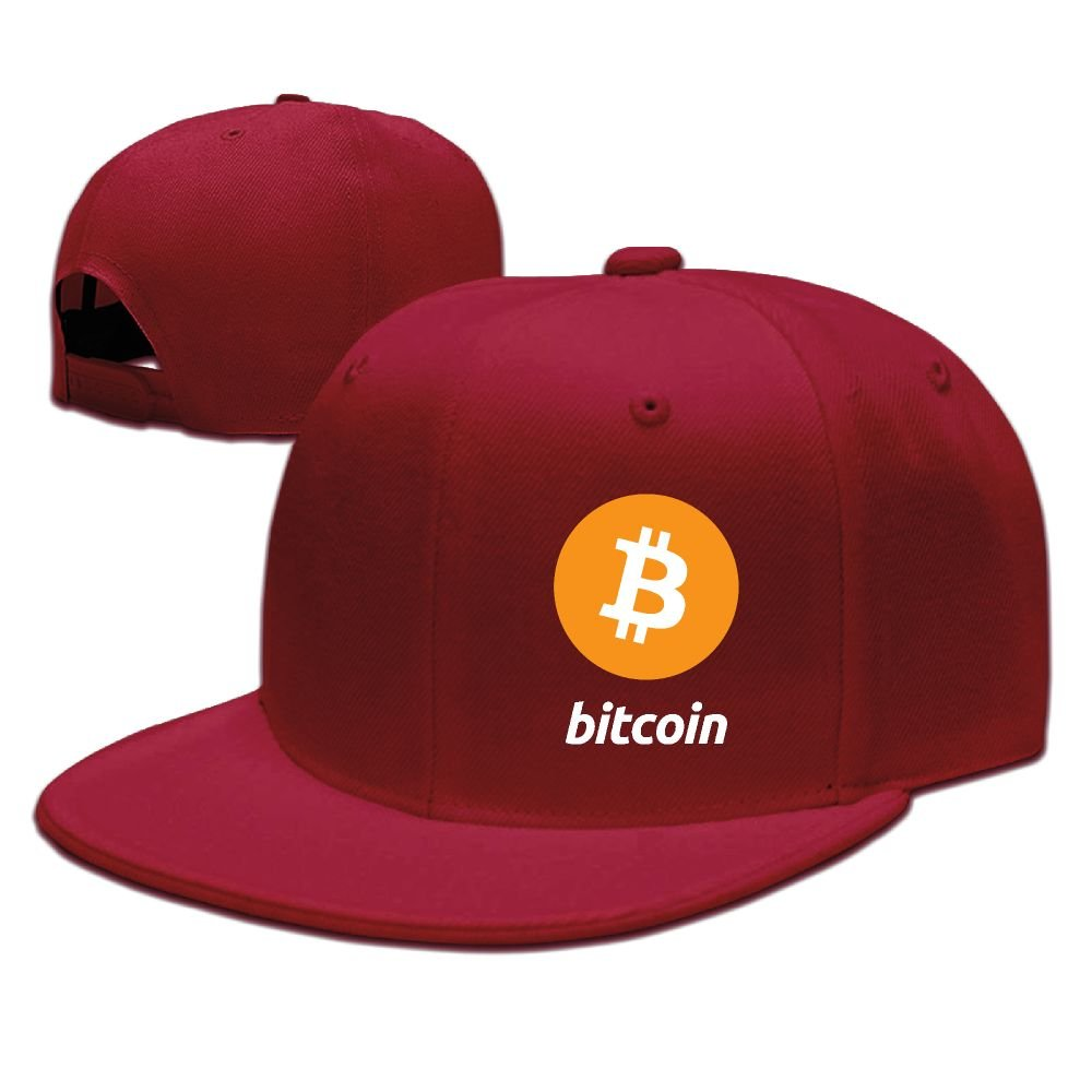 POOKOOL Adjustable Plain Hat Trucker Hat Unisex/Men/Women - Bitcoin Logo Bitcoin Sign