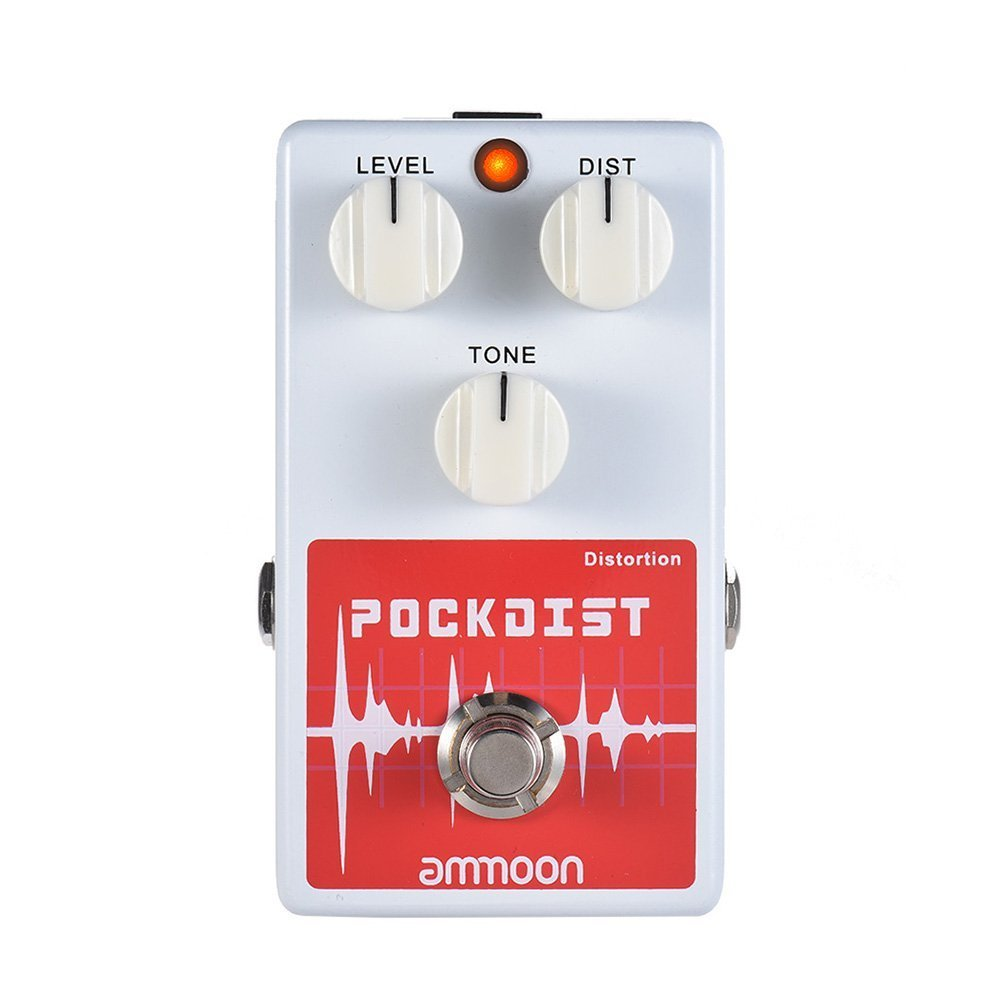 ammoon POCKDIST Classic Distortion Guitar Effect Pedal Full Metal Shell True Bypass by ammoon