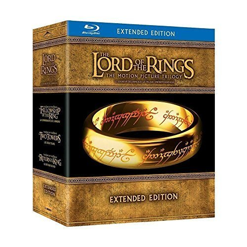 The Lord Of The Rings  Motion Picture Trilogy Blu Ray
