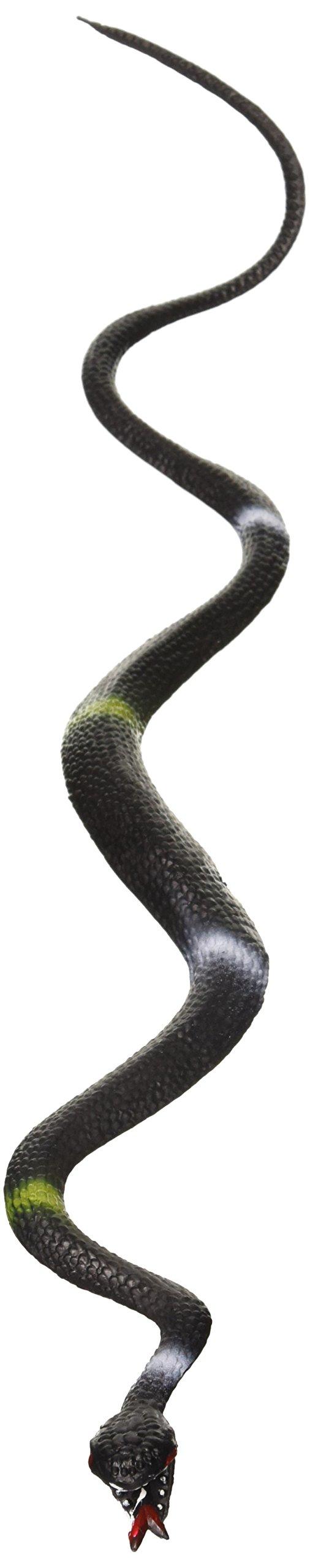 Rhode Island Novelty 24 Green Garden Snakes Great to Keep Birds Away Rubber Toy 24''