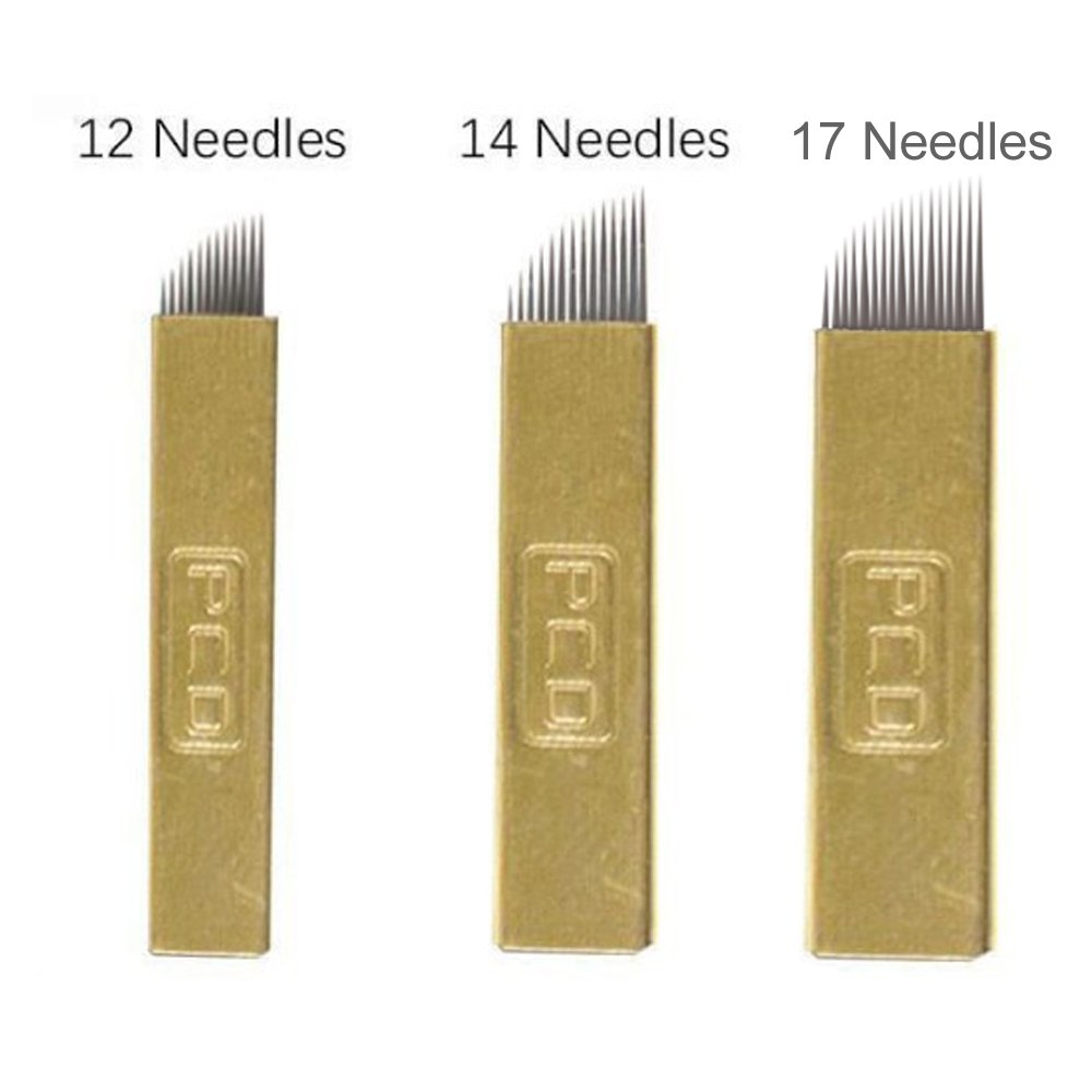 Tattoo & Body Art 50pcs U Shape Pcd 21 Pins Blades Permanent Makeup Blades Tattoo Microblading Embroidery Manual Pen Needles Moderate Price Beauty & Health