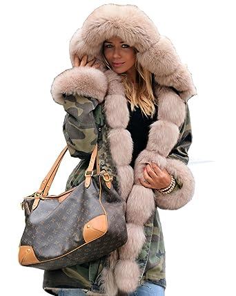 Real fur parka coats uk