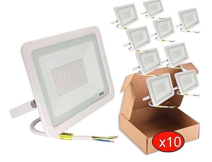 POPP® juegos de 5 y 10 Floodlight Led Foco Proyector Led 10w 20w ...