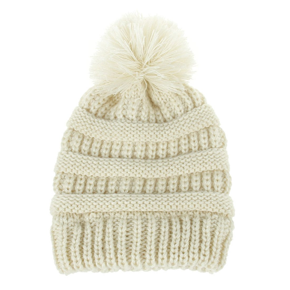 Topcoco Newborn Baby Girls Boys Winter Hat Knitted Pom Pom Skull Caps