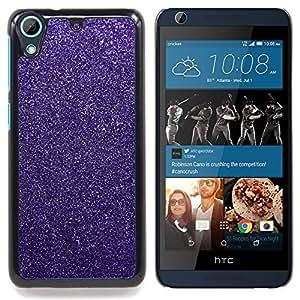 - Glitter Pink Purple Winter Snow Diamond/ Duro Snap en el tel????fono celular de la cubierta - Cao - For HTC Desire 626 & 626s