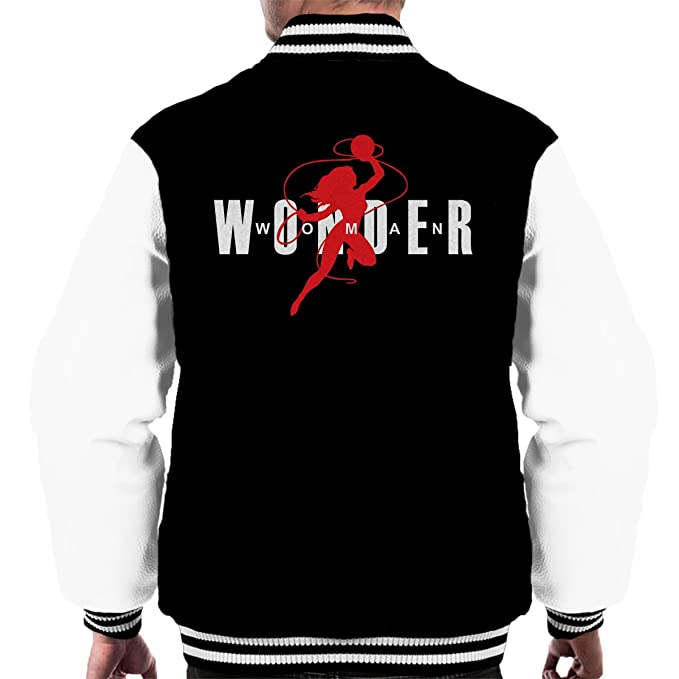 Wonder Woman Air Jordan Logo Mens Varsity Jacket: Amazon.es ...
