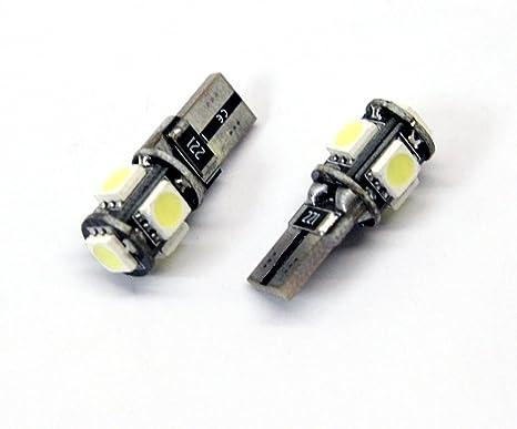 Ford Mondeo MK4 Canbus LED matrícula bombillas W5 W T10 501 Error Free T10 194 aparcamiento