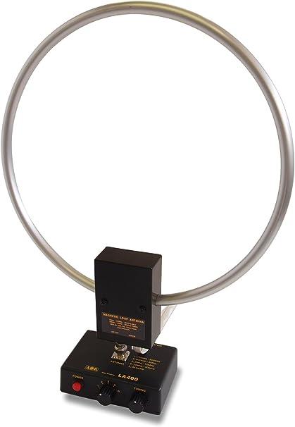 LA-400DX Magnetic Loop antena de interior