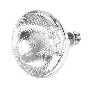 Eboxer Livestock Heat Lamp,1Pc UVA UVB Full Spectrum Sunlight Lamp Heating Light Bulb Reptile Snake Piglet etc.