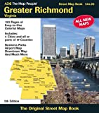 Greater Richmond Virginia, Adc The Map People, 0875307728