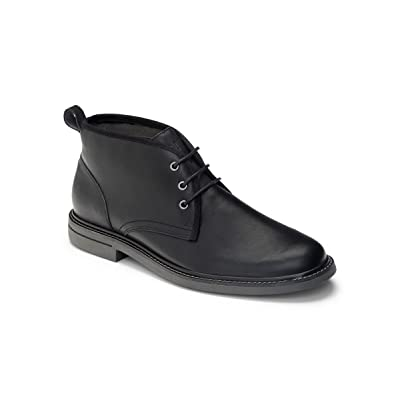 Vionic Ryan - Mens Dress Boots Black - 10 | Loafers & Slip-Ons