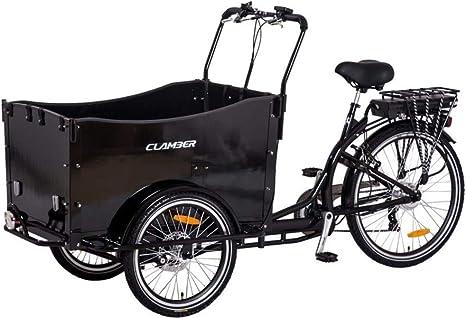 Dr. Ferrari GmbH E-Donkey - Bicicleta eléctrica para Transporte de ...