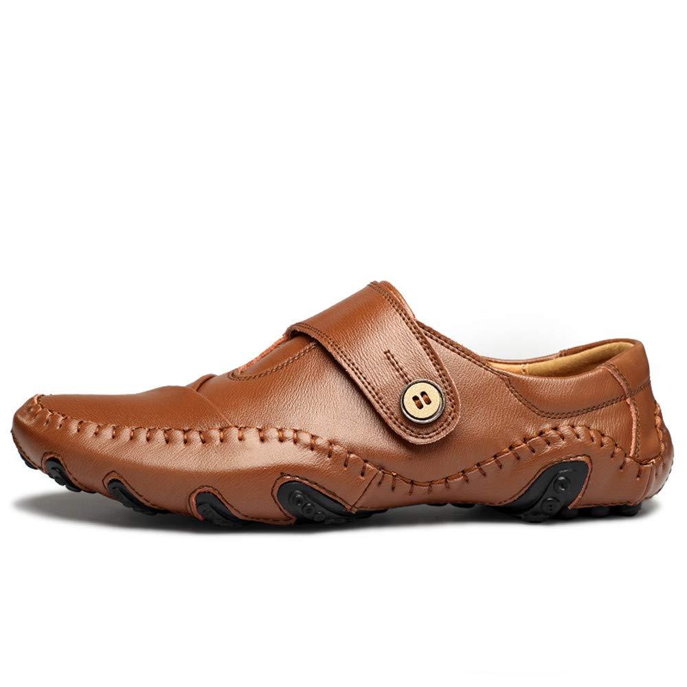 JIALUN-Schuhe Männer Komfortable Drive Müßiggänger Lässig Octopus Octopus Octopus Soft Bottom Breathable Boat Mokassins (Farbe   Schwarz, Größe   45 EU)  dae2c8