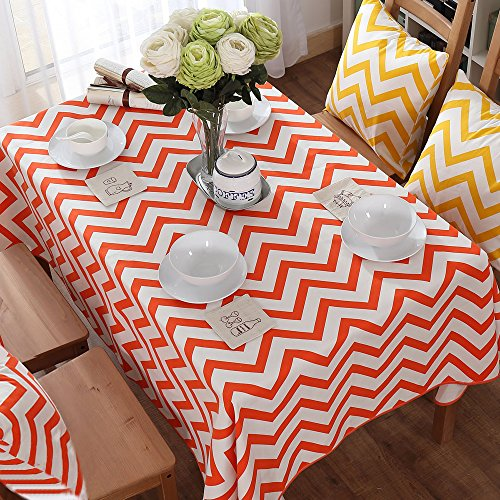 Uphome Classical Chevron Pattern Tablecloth