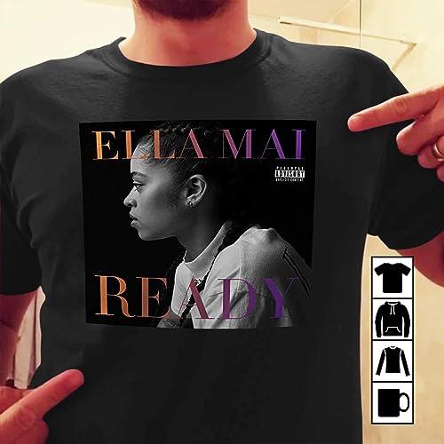 cc6a0921cc36 Amazon.com  Ella Mai - Boo d Up tshirt banner  Handmade