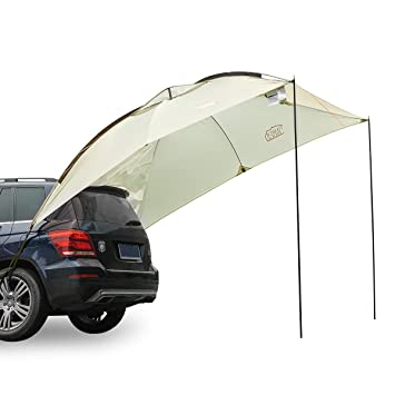 Timber Ridge Car Canopy Family Trailer Outdoor Tent for Beach C&ing SUV 3-4 persons  sc 1 st  Amazon.com & Amazon.com: Timber Ridge Car Canopy Family Trailer Outdoor Tent ...