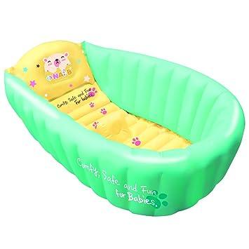Amazon.com : Nai-B Hamster Inflatable Baby Bathtub, Mint : Baby
