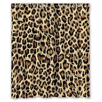 Amazon Com Modern Fashion Sexy Leopard Print Shower