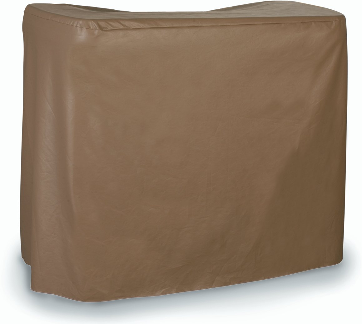 Carlisle 755580 Maximizer LDPE Portable Bar Cover, 56-11/32 x 28.51 x 45-1/2'', Taupe