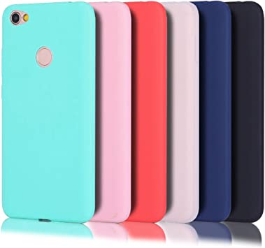Wanxideng - 6 x Funda Xiaomi Redmi Note 5 Prime, Carcasa Suave Mate en Silicona TPU: Amazon.es: Electrónica