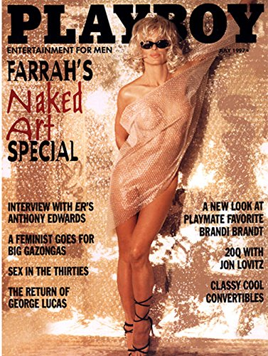 Playboy Magazine - July 1997 - Farrah Fawcett