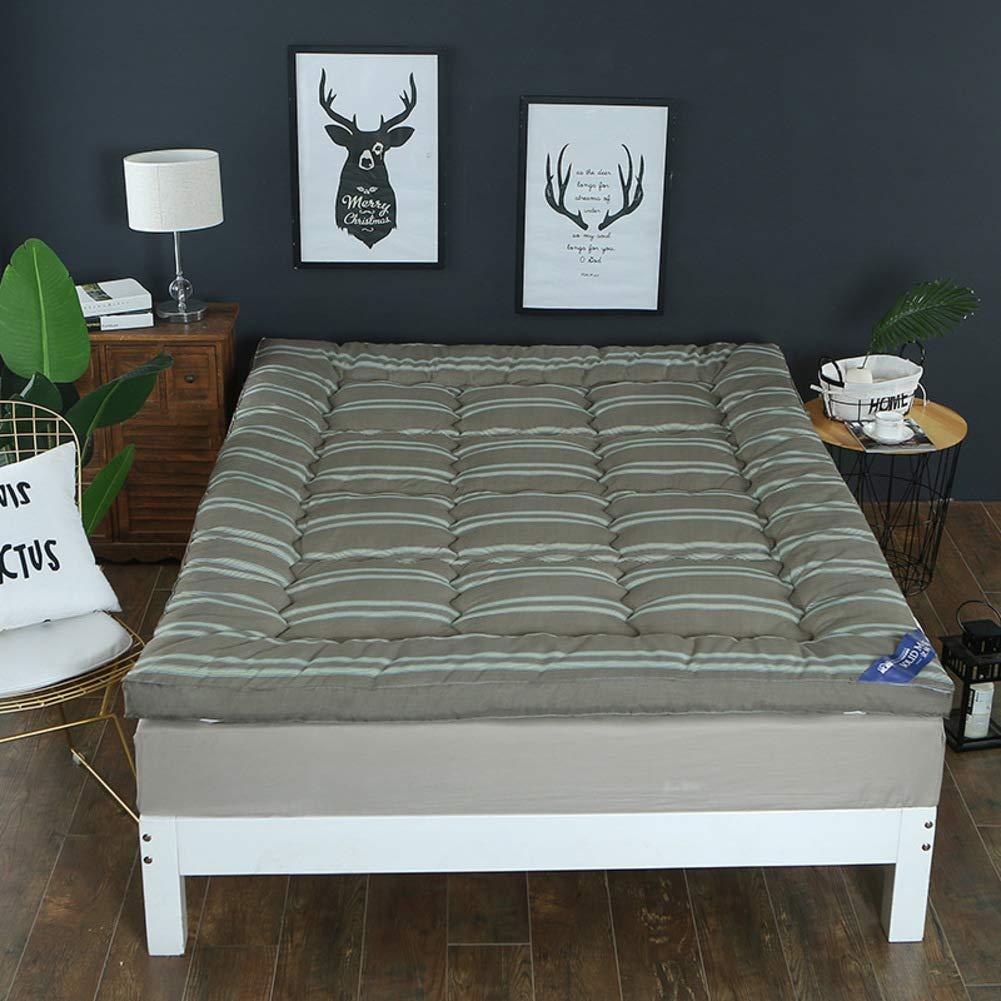 B 180x200cm(71x79inch) Seasons Thicken Warmth Tatami Floor mat,Student Dormitory Single Double Foldable Mattress-G 150x200cm(59x79inch)