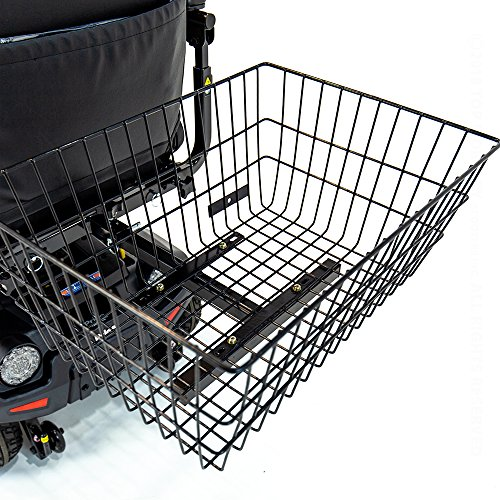 Scooter Rear Basket XL J1000 for Pride, Drive, Golden Electric Mobility Reboxed