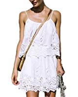 VFDFGN Boho Inspired 2 pieces set sexy beach dress hippie chic summer dresses women white embroidery