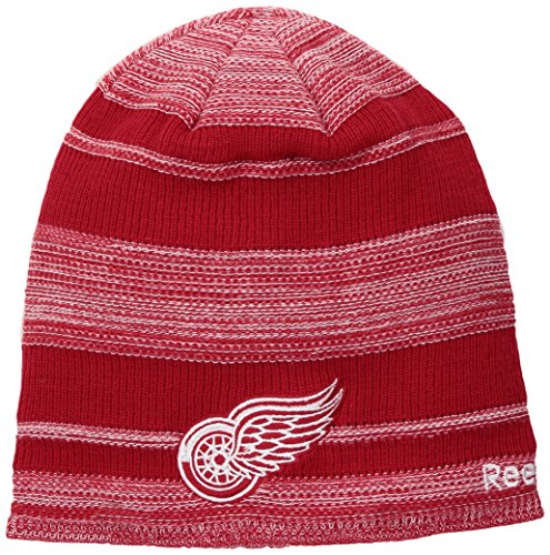 fan products of NHL Arizona Coyotes SP17 Heathered Cuffless Beanie, Red, One Size